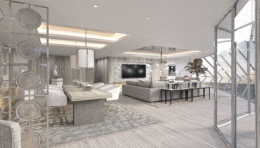 Celebrity Edge iconic suites