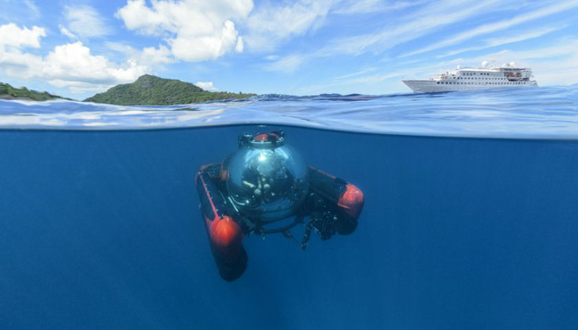 Crystal Cruises submersible