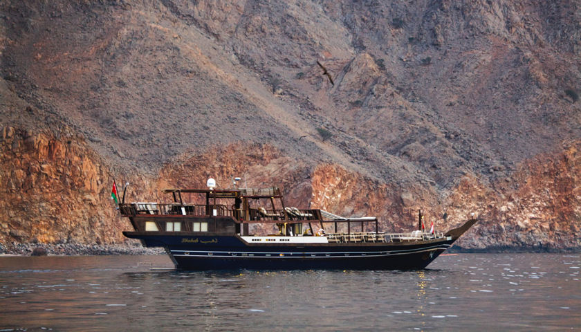 Dhahab Fjords of Musandam