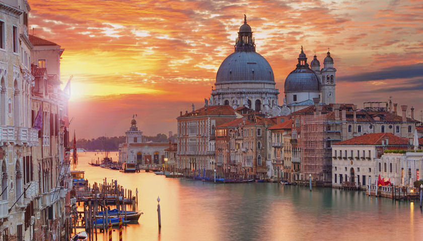 Venice sunset Uniworld
