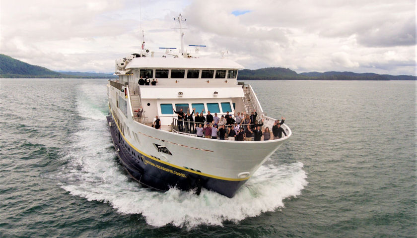 National Geographic Quest Departs on Inaugural Voyage