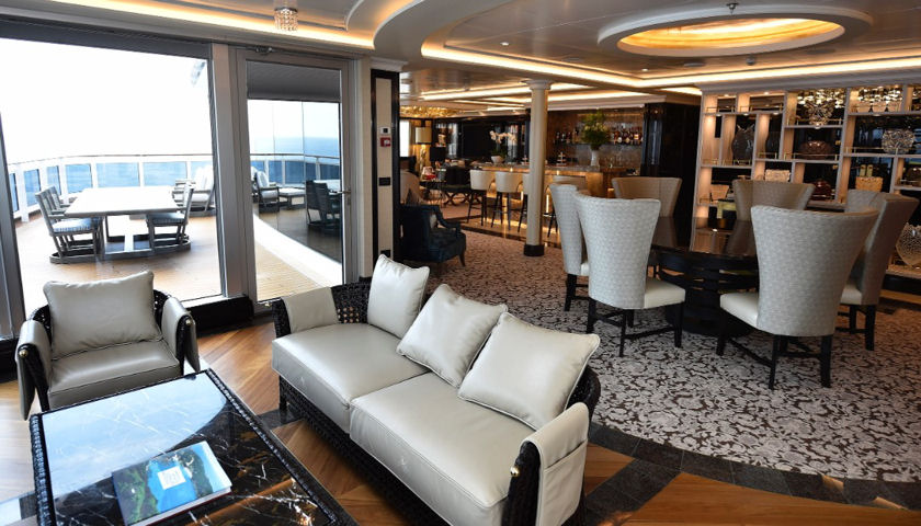The Regent Suite on the Seven Seas Explorer