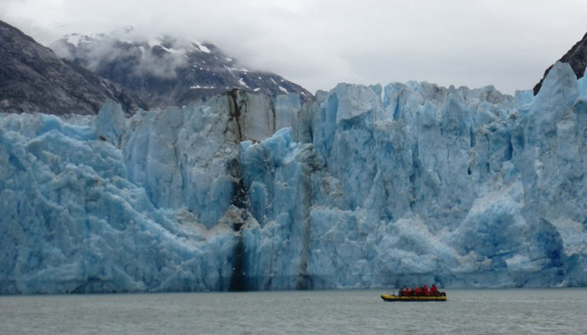 AdventureSmith Alaska glacier