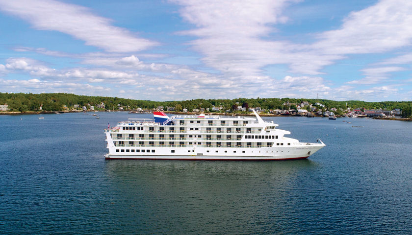 American Cruise Lines in Boothbay Harbor Maine