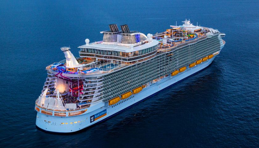 Symphony of the Seas exterior