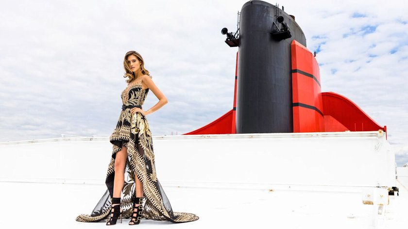 Transatlantic Fashion Week on Queen Mary 2