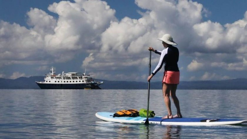 Costa Rica paddle boarding