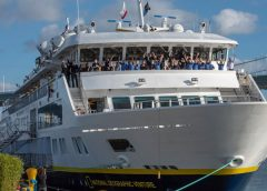 Lindblad Expeditions Christens National Geographic Venture