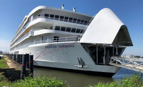 American Harmony Departs New Orleans on Inaugural Mississippi River Cruise
