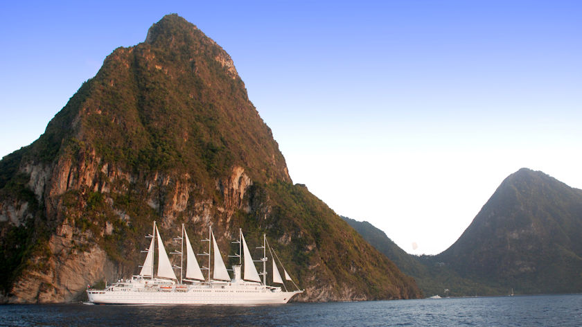 Windstar in St Lucia