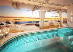 Silversea's Silver Moon Celebrates Float-Out in Italy
