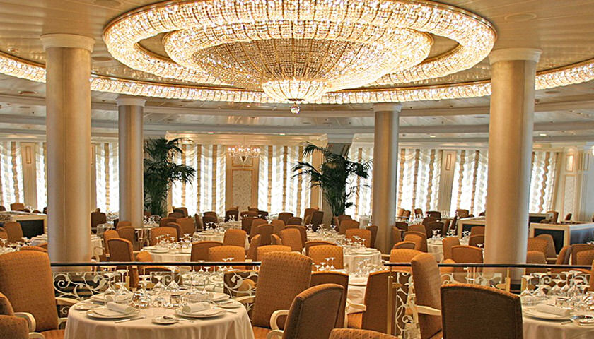 Oceania Cruises Introduces New Grand Dining Room Menus